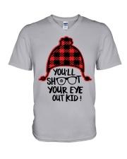 family your eye V-Neck T-Shirt thumbnail
