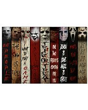 Poster horror 36x24 Poster front