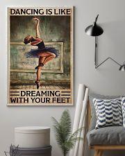 Poster Ballet dancing is like dreaming 24x36 Poster lifestyle-poster-1