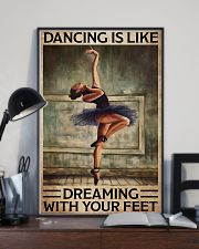Poster Ballet dancing is like dreaming 24x36 Poster lifestyle-poster-2