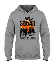 Corgi Cool Wind Hooded Sweatshirt thumbnail