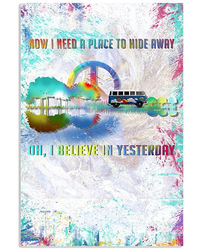 I believe in yesterday poster