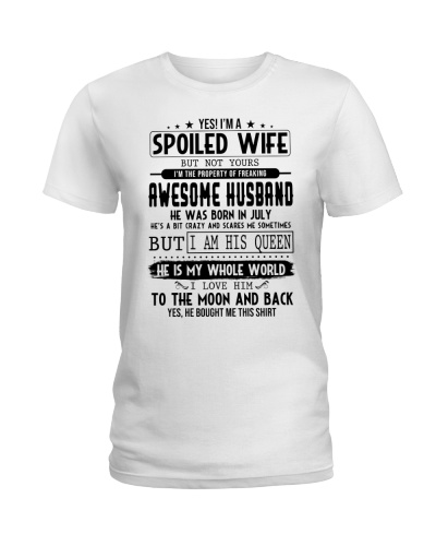 July Spoiled Wife