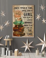 Poster Book really love books and tea 24x36 Poster lifestyle-holiday-poster-1