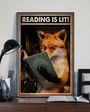Poster Book reading is lit 24x36 Poster lifestyle-poster-2