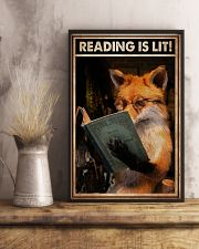 Poster Book reading is lit 24x36 Poster lifestyle-poster-3