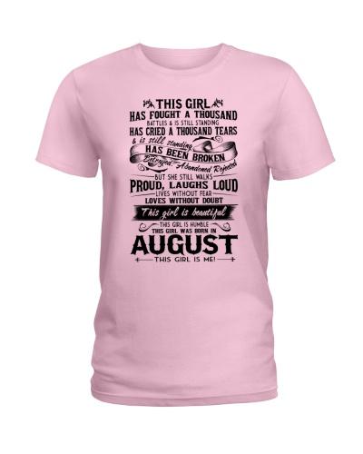 August girl proud