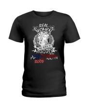 8 women puerto rican Ladies T-Shirt front