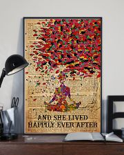Poster Yoga happily 3 24x36 Poster lifestyle-poster-2