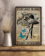 Poster Ballet its not about the shoes 24x36 Poster lifestyle-poster-3