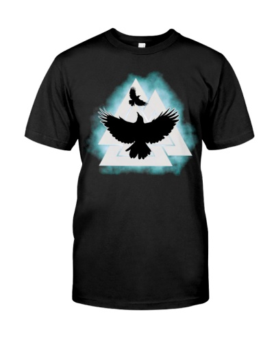 Viking Raven Symbol