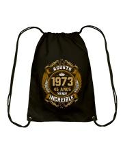 agosto 1973 - Siendo Increible Drawstring Bag thumbnail