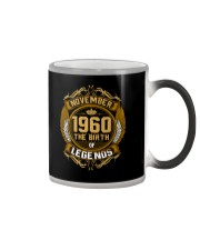 November 1960 The Birth of Legends Color Changing Mug thumbnail