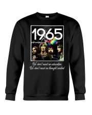 1965 Pink F Crewneck Sweatshirt thumbnail