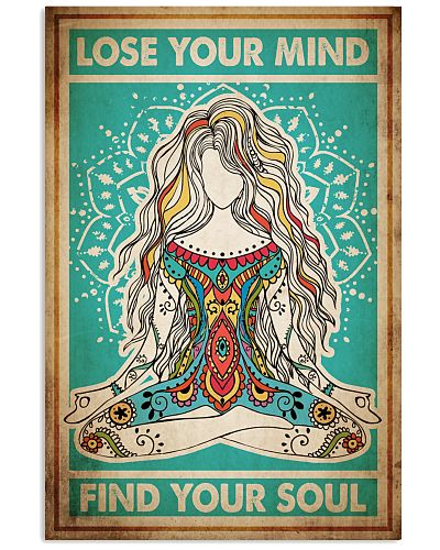 Poster Yoga lose your mind