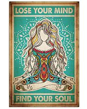 Poster Yoga lose your mind 24x36 Poster front