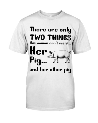 two things her pig