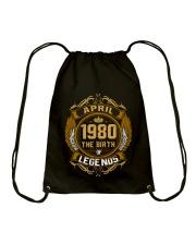 Abril 1980 The Birth of Legends Drawstring Bag thumbnail