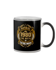 Abril 1980 The Birth of Legends Color Changing Mug thumbnail