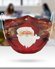 2 Layer Face Mask Christmas Santa Happy 2 Layer Face Mask - Single aos-face-mask-2-layers-lifestyle-front-30