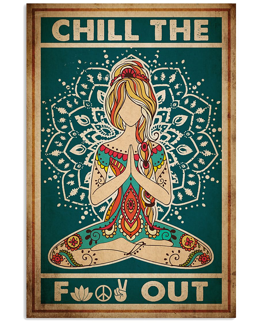 Poster Yoga chill out 24x36 Poster