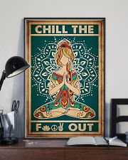 Poster Yoga chill out 24x36 Poster lifestyle-poster-2