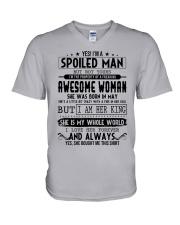 May Spoiled Man V-Neck T-Shirt thumbnail