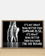 Poster Ballet the day before 36x24 Poster poster-landscape-36x24-lifestyle-03