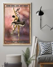 Poster Ballet some girl are just born 24x36 Poster lifestyle-poster-1