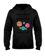 FORGET PRINCESS Hooded Sweatshirt front