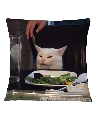 cats yelling Pillowcase