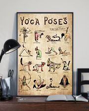 Poster Yoga 16 poses 24x36 Poster lifestyle-poster-2