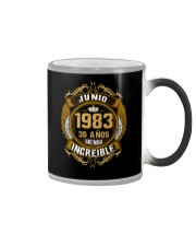 Junio 1983 - Siendo Increible Color Changing Mug thumbnail