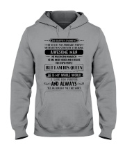 March awesome man Hooded Sweatshirt thumbnail