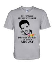 August All Woman V-Neck T-Shirt thumbnail
