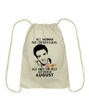 August All Woman Drawstring Bag thumbnail
