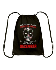 December Created equal Drawstring Bag thumbnail