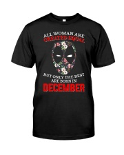 December Created equal Classic T-Shirt front
