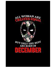 December Created equal 24x36 Poster thumbnail