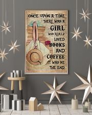Poster Book girl love book and coffee the end 24x36 Poster lifestyle-holiday-poster-1