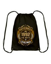 September 1992 The Birth of Legends Drawstring Bag thumbnail