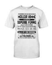 fevrier meillieur homme Classic T-Shirt front