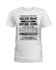 fevrier meillieur homme Ladies T-Shirt thumbnail