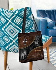 Collection Faith Over Fear Custom Name All-over Tote aos-all-over-tote-lifestyle-front-01