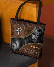 Collection Faith Over Fear Custom Name All-over Tote aos-all-over-tote-lifestyle-front-02