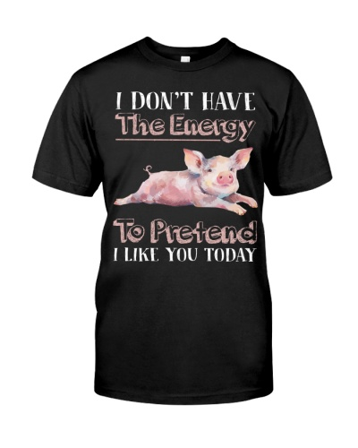 pig i dont have energy