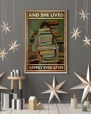 Poster Book and she lives happy girl 24x36 Poster lifestyle-holiday-poster-1