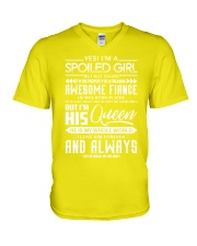 June Fiance girl V-Neck T-Shirt thumbnail