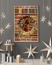 Poster Book and into the library 24x36 Poster lifestyle-holiday-poster-1