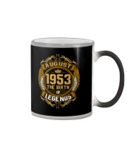 August 1953 The Birth of Legends Color Changing Mug thumbnail